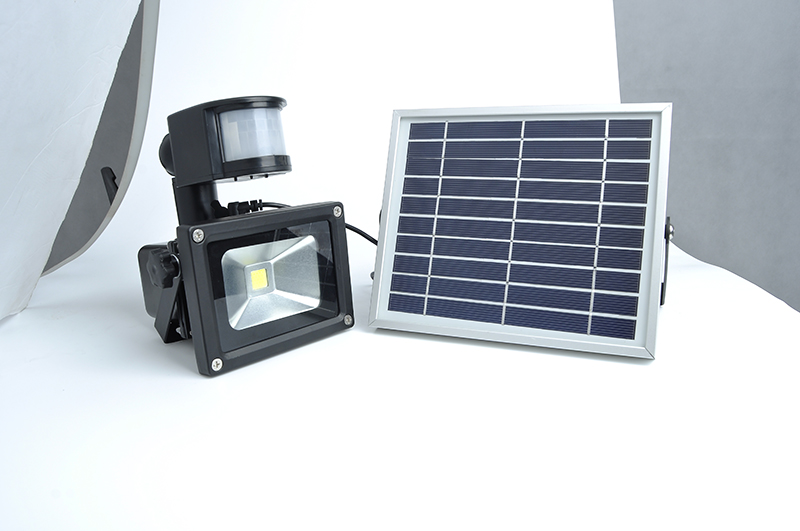 10W Solar LED flood light GY-SFL-10A