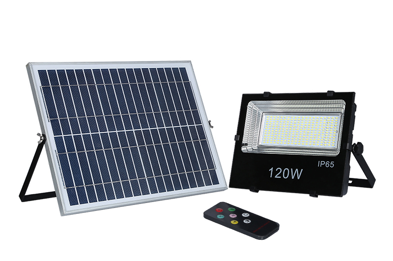 120W remote solar lights GY-RSF-B-120W