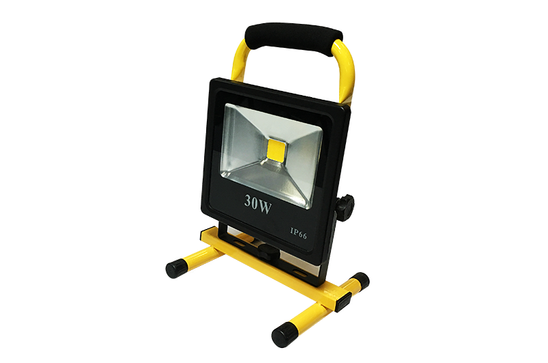 30W slim battery flood light GY-CBRLF-30A1