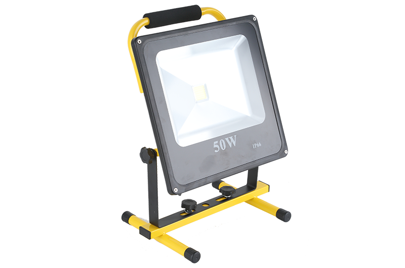 50W slim battery flood light GY-CBRLF-50A1